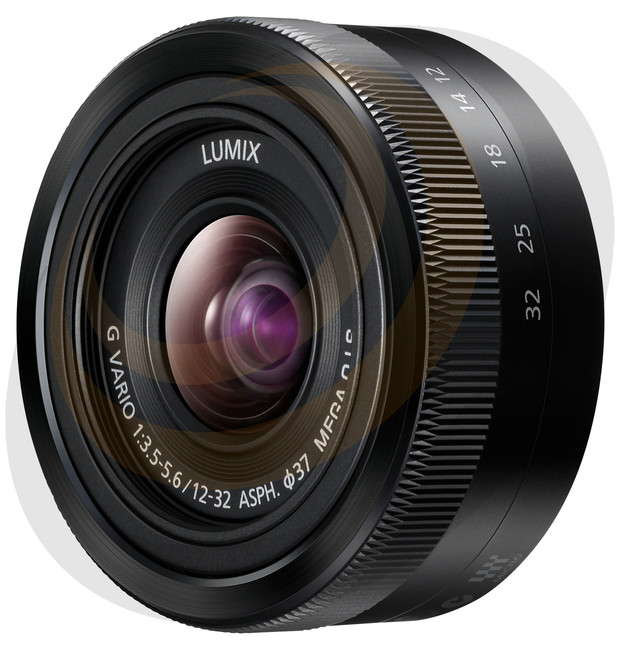 Lumix G Vario 12-32mm/F3.5-5.6 with Mega O.I.S - Black - Image 1