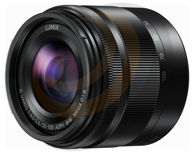 Lumix G Vario 35-100mm/F4-5.6 Aspherical lens - Black - Image 1