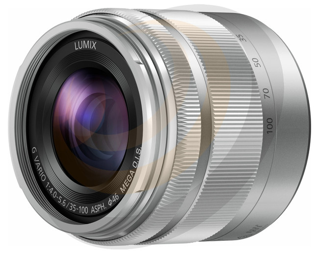 Lumix G Vario 35-100mm/F4-5.6 Aspherical lens - Silver - Image 1
