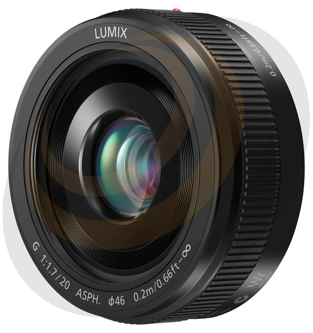 Lumix G 20mm/F1.7 MkII Asperical lens in Black - Image 1