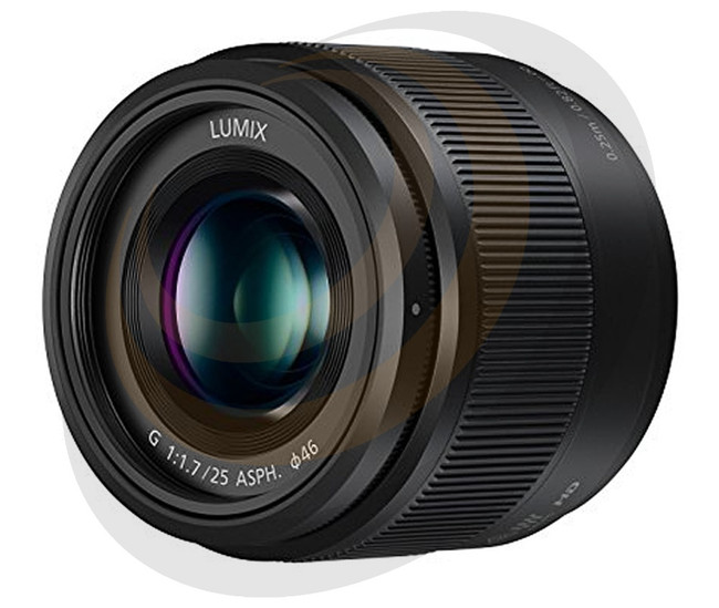 Lumix G 25mm/F1.7 Asperical lens in Black - Image 1