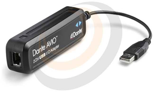 Dante AVIO USB IO Adapter 2x2 - Image 1