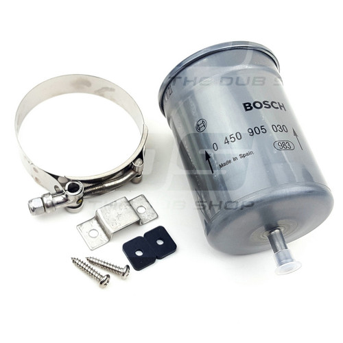 Bosch fuel filter and mounting bracket package