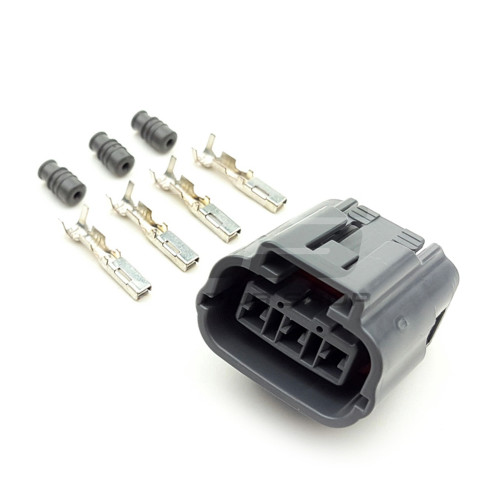 Universal 3 position female connector