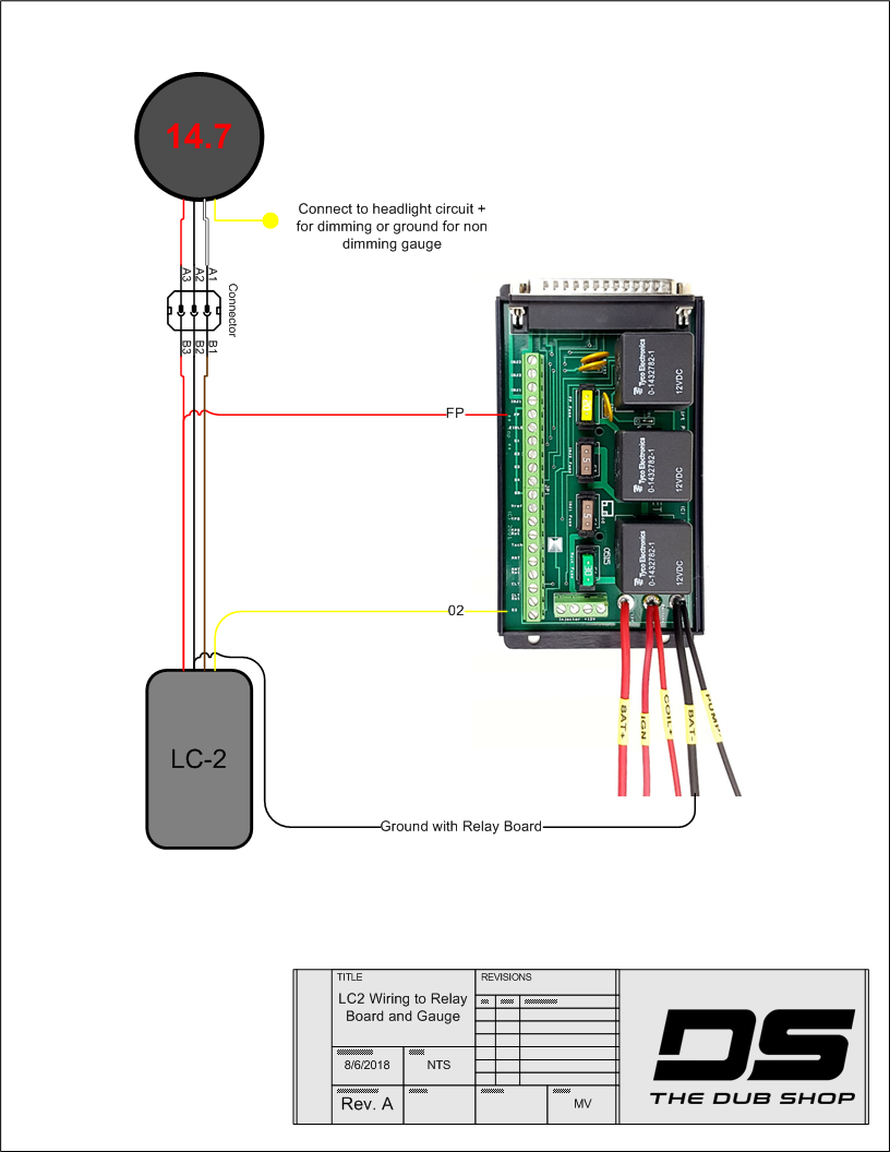 Tds Specific Wiring Diagrams