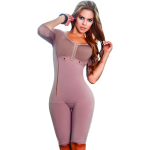 Bodysuit Total Control Butt Enhancer Powernet Full Girdle Livonia