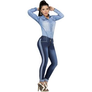Push Up Authentic Colombian Booty Lifting Jeans Pantalon Colombiano Levanta Cola Lizbeth