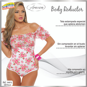 BlusaPowernet Body Shaping Fajas Colombiana Unisize 6155