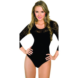 Colombian Body Blouse Shaper with Tummy Control with Lace
