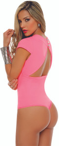 Colombian Body Blouse Shaper with Tummy Control Powernet Pink 6148