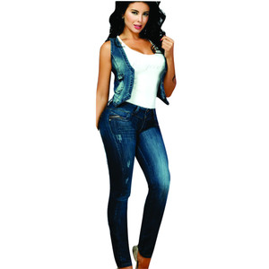 Jeans Colombiano Levanta Cola Push Up