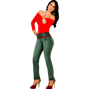 Push Up Jeans Colombianos Levanta Cola