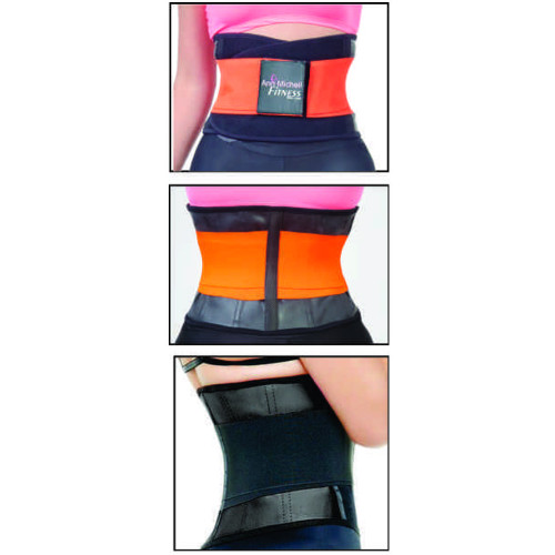 ANN MICHELL 4025 FITNESS THERMO LATEX XTREME POWER BELT BODY SHAPER GYM TRAINER