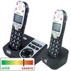 2 Phone Bundle for Severe Hearing Loss - Amplified Cordless Telehone with Answering Machine - Amplicom Modl 720T