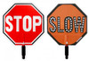 """18"""" LED STOP/SLOW SIGN"""