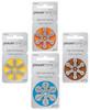 Power One Zinc Air Hearing Aid Batteries (1 Box of 60 Batteries)