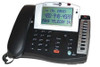 Fanstel Model ST150 Amplifed Corded 1-Line Business Telephone with Extra Loud Speakerphone - Black