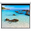 """HamiltonBuhl 150"""" Diag. (74x131) Manual Pull Down Projector Screen, HDTV Format, Matte White Fabric"""