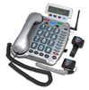Extra Loud Amplified Corded Telephone with Emergency Connect for Severe Hearing Loss - Geemarc Model AMPLI600