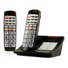 2 Phone Bundle for Severe Hearing Loss - Includes 1 Cordless Base Unit and Extra Loud Speakerphone and 1 Expansion Handset - Serene Innovations CL65BUN