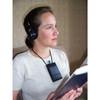 Oval Window Induction Loop Receiver with Headphones 1