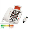 Easy to Use Amplified Emergency Response Corded Telephone - ClearSounds Model CSC600ER