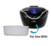 Gemoro Replacement Basket for Gemora Sparkle Spa Pro Ultrasonic Cleaner - 1 Basket