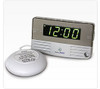 Sonic Alert SB200SS Vibrating Travel Alarm Clock with Bed Shaker