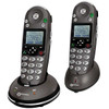 2 Phone Bundle for Mild to Moderate Hearing Loss - Includes 1 Cordless Base unit with Visual Ringer and 1 Expansion Handset - Geemarc AMPLI350BUN