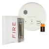 Gentex GN-503F Hard Wired Smoke & Carbon Monoxide Alarm with Wall Strobe