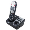 Amplified Big Button Cordless Telephone with Answering Machine and Caller ID Screen for Severe Hearing Loss - Amplicom Model PT720