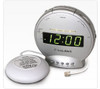 Sonic Alert SBT425SS Alarm Clock with Bed Shaker & Telephone Signaler