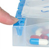 7-Day AM/PM Push Button Pill Organizer