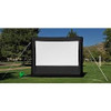 "HamiltonBuhl 167"" Diag. (84x144) Inflatable Outdoor  Projector Screen, HDTV Format, Matte White Fabric"