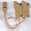Ear Gear Cochlear for Eyeglasses - Binaural (Beige)