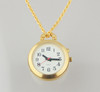 1 Button Gold Pendant Talking Watch
