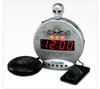 "Sonic Alert SBS550BC Skull ""Bone Crusher"" Alarm Clock with Bed Shaker"