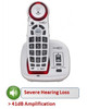 Amplified Big Button Cordless Telephone for Severe Hearing Loss - Clarity Model XLC2