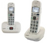 2 Phone Bundle for Mild to Moderate Hearing Loss - Includes 1 Cordless Base Unit with Answering Machine and 1 Expansion Handset - Clarity Models D714 and D704HS