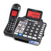 Amplified Cordless Bluetooth Telephone with Answering Machine for Severe Hearing Loss - ClearSounds Model iConnect A1600BT