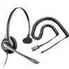 Plantronics H261N SupraPlus Binaural Noise-Canceling Headset with RJ9 Adapter