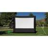 "HamiltonBuhl 137"" Diag. (66x120) Inflatable Outdoor Projector Screen, HDTV Format, Matte White Fabric"