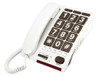 Extra Loud Big Button Corded Telephone for Severe Hearing Loss - Serene Innovations Model HD60J
