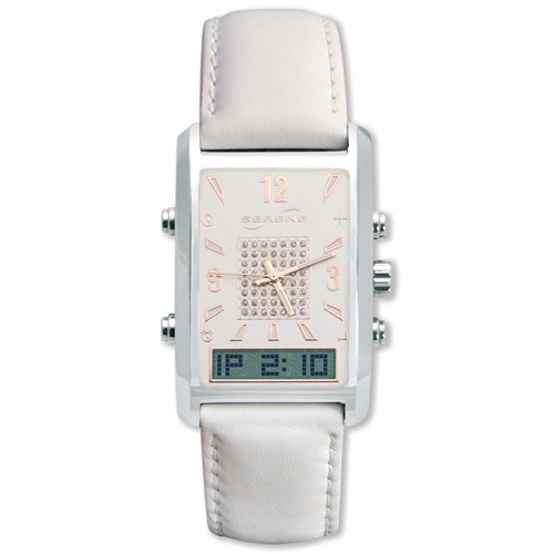 Serene Innovations VibraQuartz VQ600 Vibrating Dress Watch for Women