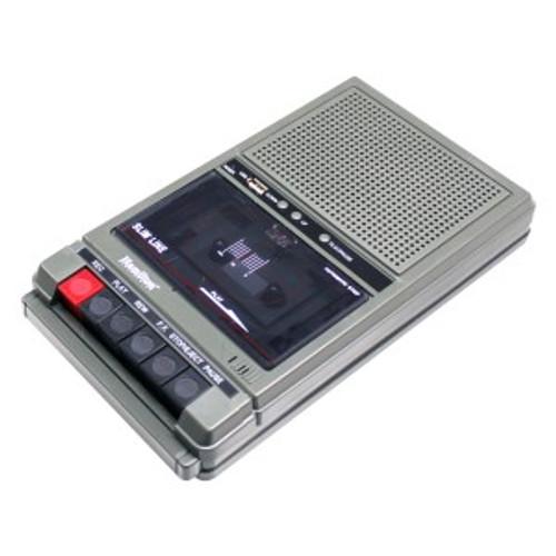 HamiltonBuhl Classroom Cassette Player, 2 Station, 1 Watt