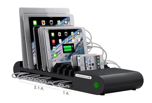HamiltonBuhl 10 Port USB Charging Station