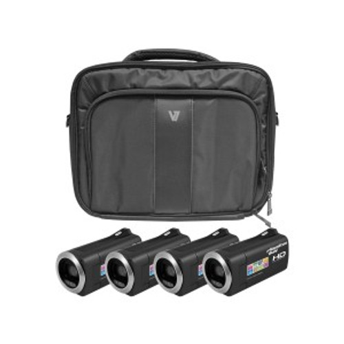 HamiltonBuhl HD Camcorder Explorer Kit with 4 Cameras, Software and Case