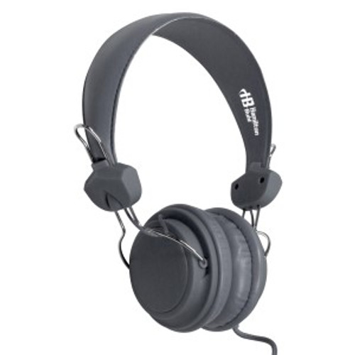 HamiltonBuhl TRRS Headset with In-Line Microphone - Gray