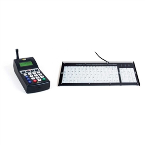 LRS TX-7460PLUS Paging Transmitter with Keyboard
