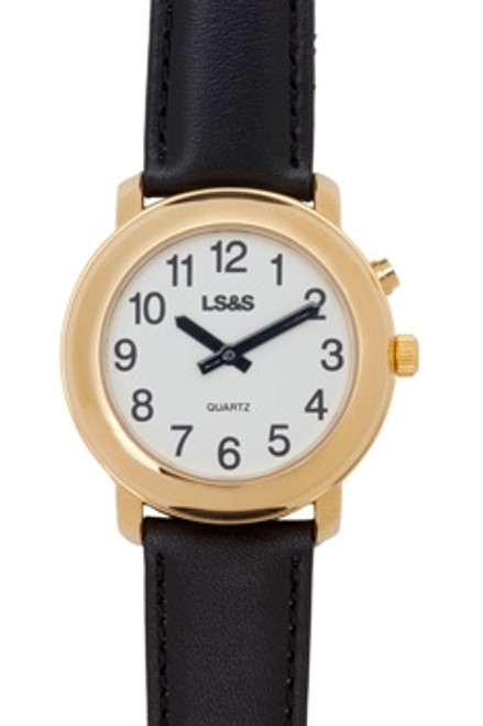 Gold One Button Talking Watch